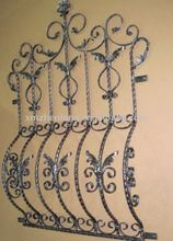 classic wrought iron window grill