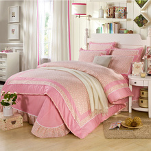 hot-selling luxury brands cotton comforter set/bed cover/bed sheet