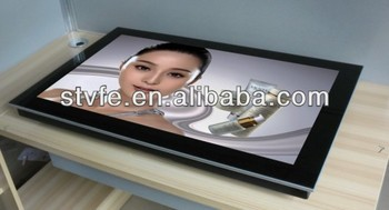 "42""-55"" wall mounted digital advertising player optional 3G/wifi"