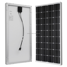Grade A Quality 12v 100wp monocrystalline solar electric panel