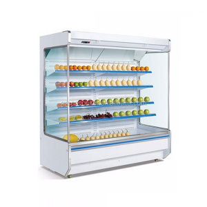 Multi-deck refrigerated sandwich display cooler