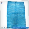 Blue PE raschel plastic mesh bags for packing seafood made in China