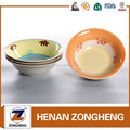 "China stock glaze hand-painted ceramic soup bowl,7"" stoneware bowl"