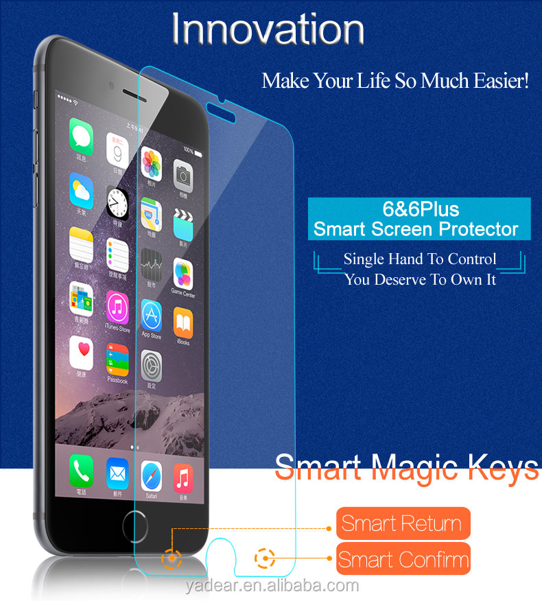 For iphone6 Smart touch screen cover For iphone 6 Smart glass screen wholesale product