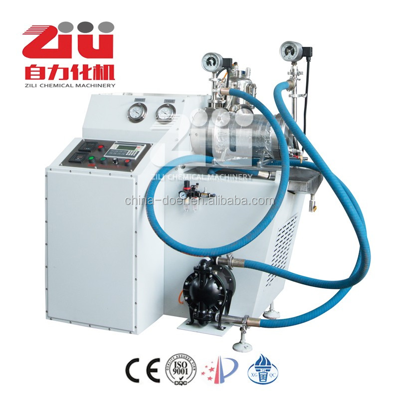 Horizontal bead mill machine for PCB printing ink for circuit plate