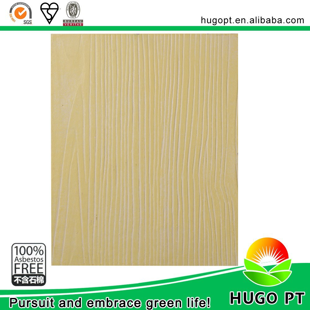 Non Asbestos Lightweight Decorative Waterproof Exterior Wall Siding House