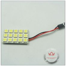 CAR LED ROOF LAMP PCB 15SMD 5050 LED indoor light and reading lamp and led dome light