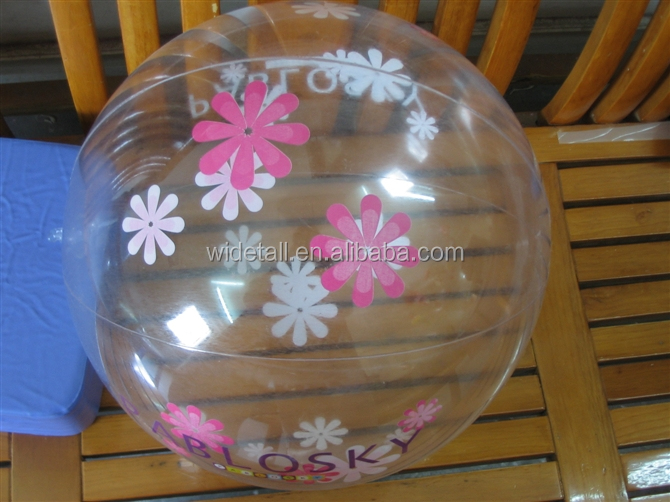customized photo beach ball /football ball
