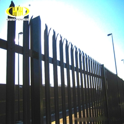 UK powder coated palisade fencing prices ( low price )
