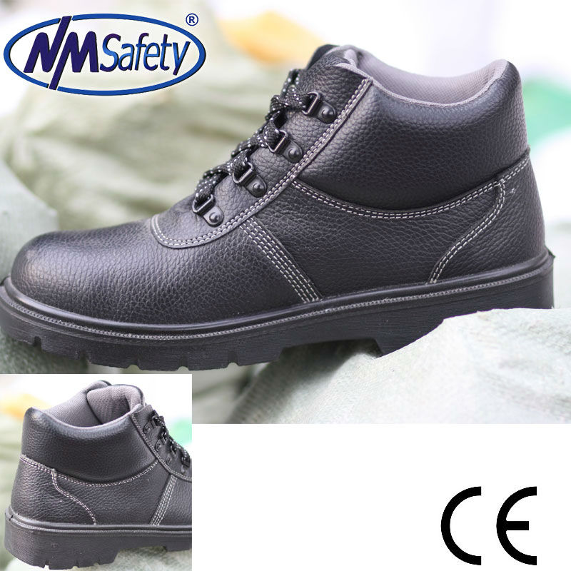 NMSAFETY work time safety shoes/industrial safety shoes for work/brand safety shoes