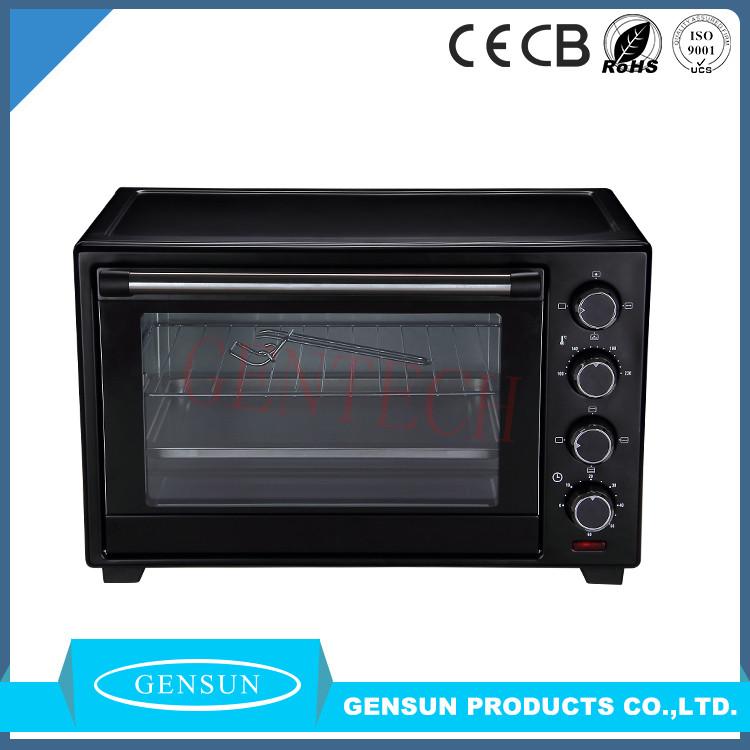 Portable household electric deck oven