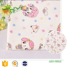 wholesale cheap custom cute girl pattern japanese printed cotton fabric