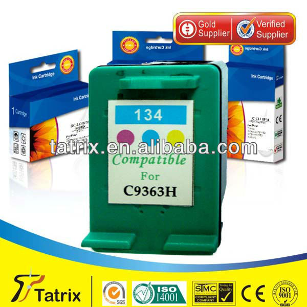 for HP 134 , 134 New Ink Cartridge ,With 100% Defective Replacement.