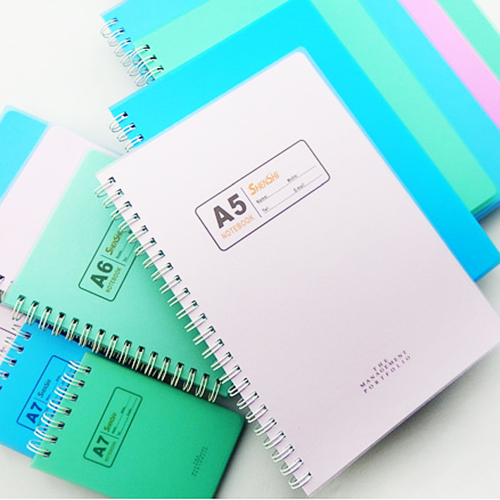 List manufacturers of spiral notebook with blank pages for Notebook with colored pages