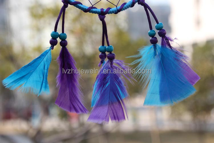 Feather Native American Indian dream catchers LZXK2013