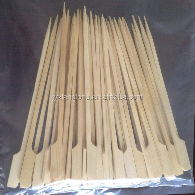 High quality natural color flag /teppo/gun bamboo skewers(sticks)