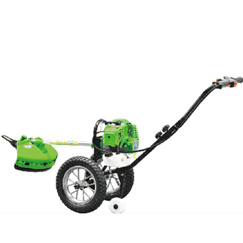 43cc wheel brush cutter hand push grass cutter/hand push brush cutter/brush cutter with wheels