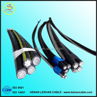 Low Voltage Aluminum Conductor PE Insulated Abc Electric Cable