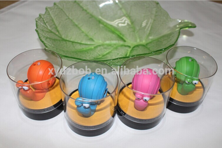 Hot selling with new design Cute mini Snail shape lound speaker