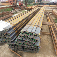 railway construction material, 15kg/m railroad steel rail