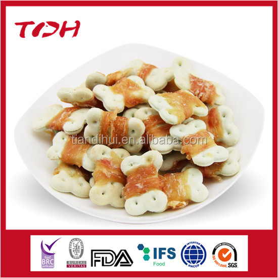 free dog food samples with excellent quality mini heart shape biscuits crispy Qingdao pet food