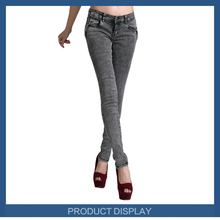 98% cotton clothing women high waist slim ali baba denim jean