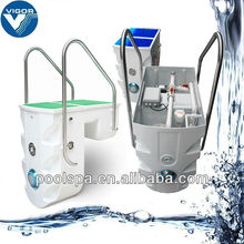 Auto-clean smart integrative swimming pool filter machine