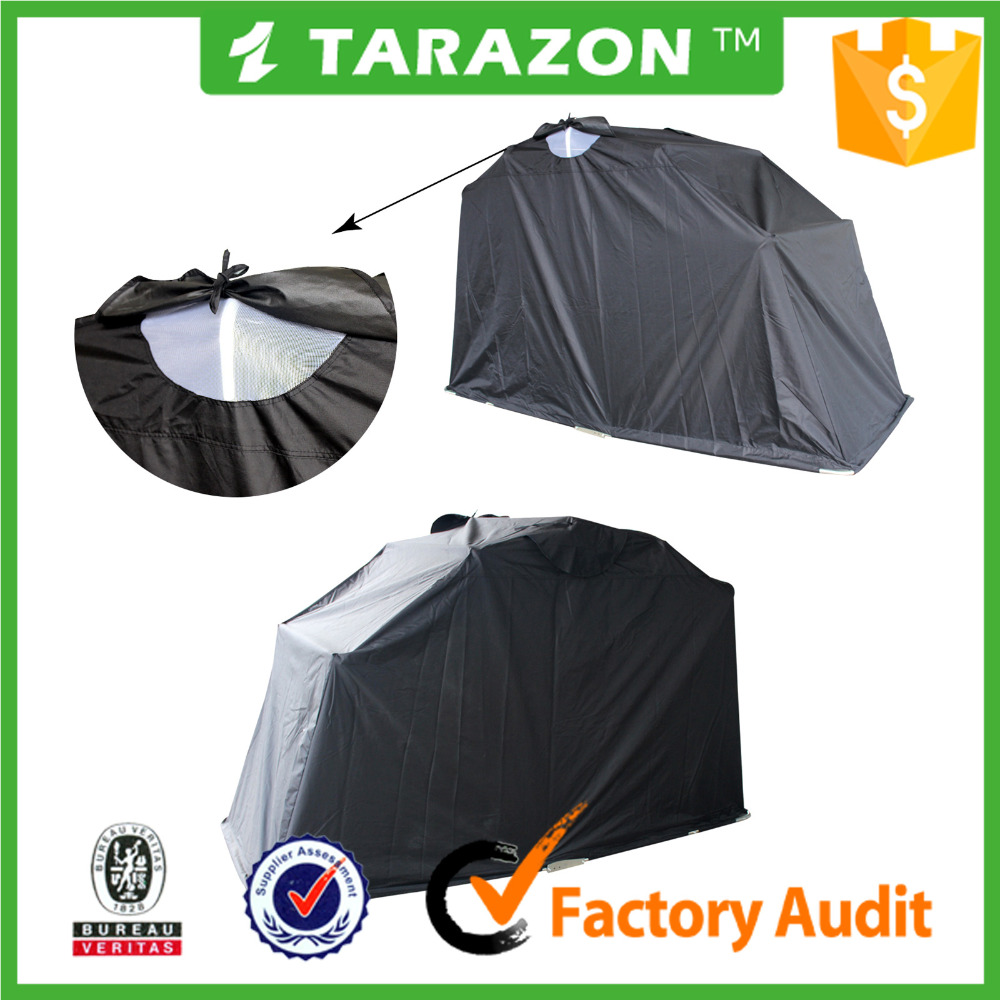 Tarazon Wholesale Portable Waterproof Motorcycle Folding Tent Cover