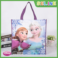 Seline laminated promotional wholesale foldable non woven b.f.star shopping bag