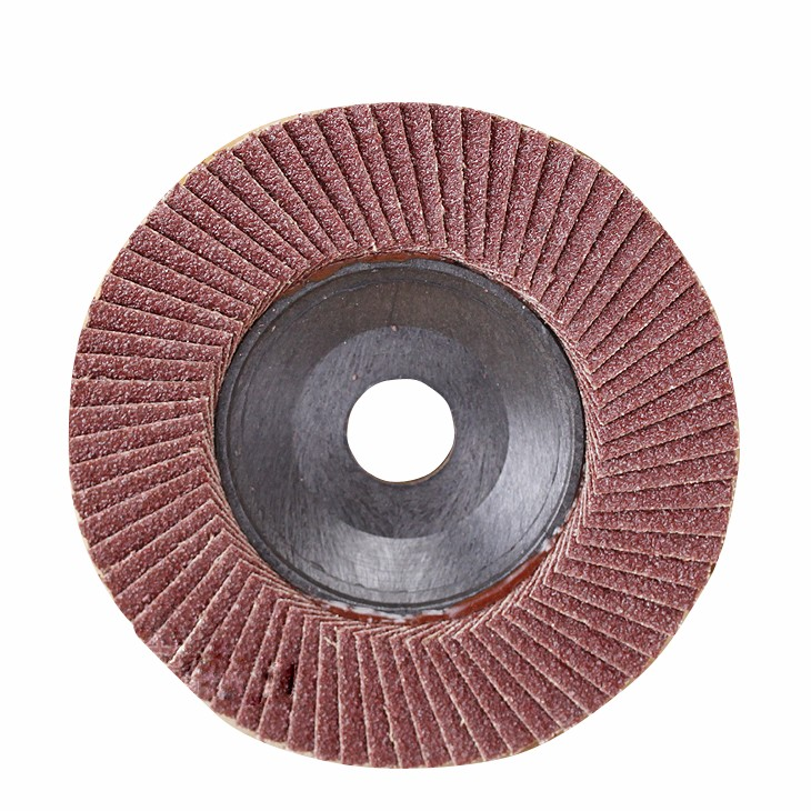 high cost performance power tool flap disc abrasives backing stone polish grinding wheels metal concrete polishing disc