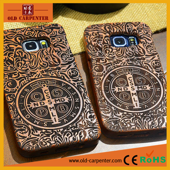 Wholesale mobile phone accessories wooden/bamboo mobile phone protection case