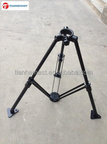 interne kabel leichte tragbare beleuchtung teleskop pneumatischen mast mit stativ. Black Bedroom Furniture Sets. Home Design Ideas