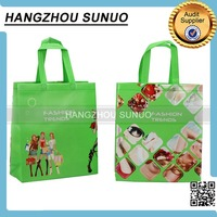 Laminated Printed Foldable Non Woven Recycle Shopping Bag