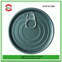 Factory price tinplate material air tight lids
