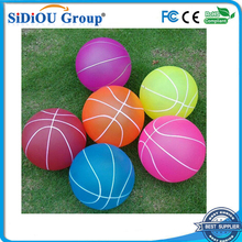 hollow plastic bouncing balls basketball