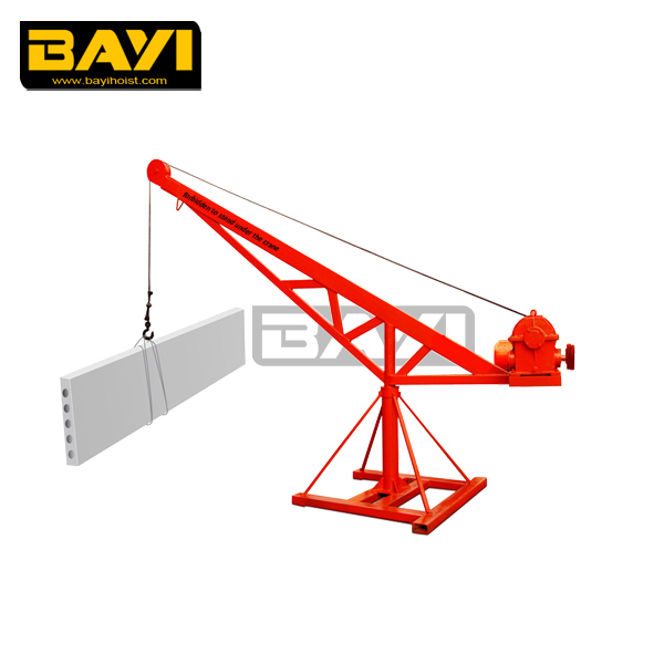 Factory supply 500kg portable mini crane