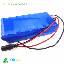 Cleva 18650 Rechargeable lithium battery 12V 15 battery pack for robotic vacuum cleaner