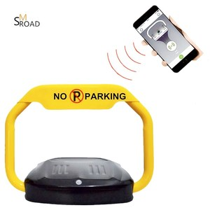 Parking lot bluetooth mobile app remote control smart car parking lock