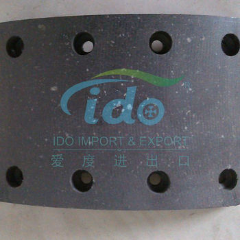 semi-metallic brake pad for Kamaz 5511-3501105