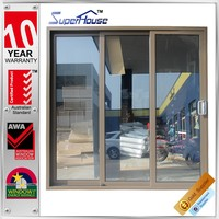 Superhouse high quality Australia AS2047 standard aluminium sliding folding partition doors