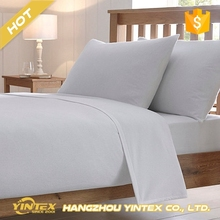 New arrival best quality easy fit breathable wrinkle resistant cheap wholesale silky soft organic bed sheet for hotel