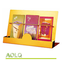 high quantity metal brochure rack/ magazine rack/ book rack closeout