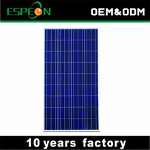 factory poly PV solar panel 250W price made in China