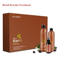 Professional instant straightening brazil keratin treatment for damaged hair