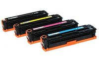 Compatible for HP 320A Color Toner Cartridge for HP Laserjet Pro CM1415fn/1415fnw/CP1525n