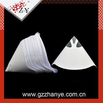 Guangzhou Factory paper paint strainer/filter for automobile painting industry