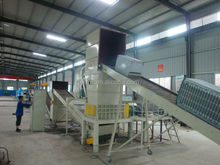 Eco-friendly Waste Fridge recycling plant for metal and plastic
