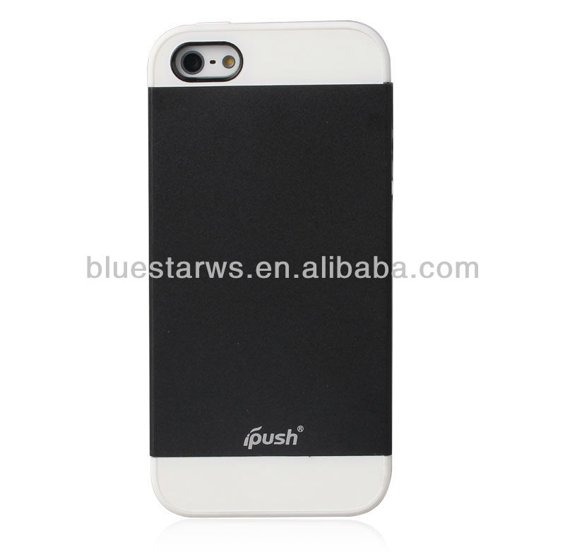 Factory Wholesale colorful classic pc+tpu mobile phone cover for iphone 5 with OEM/ODM welcome
