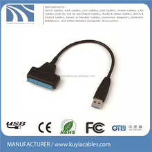 "High speed USB 3.0 to SATA 20pin Adapter Cable for 2.5"" HDD Hard Disk Drive"