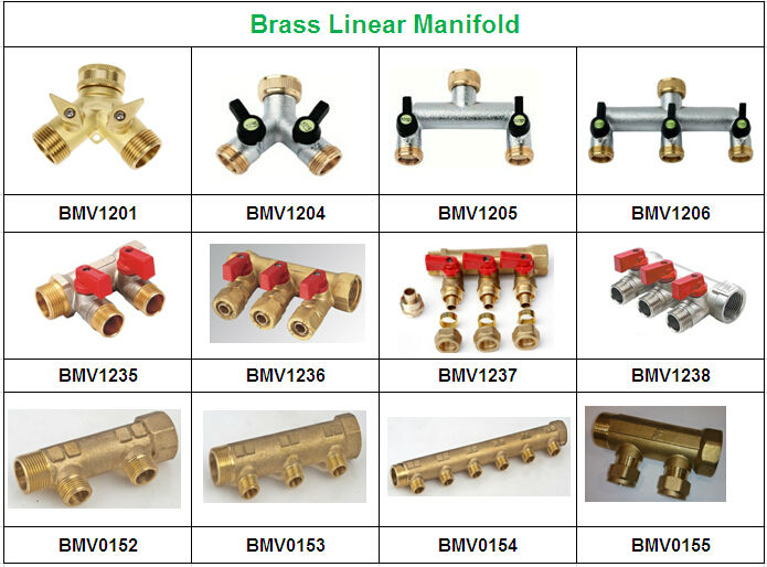 Brass compression fittings for pex al pipes view pap